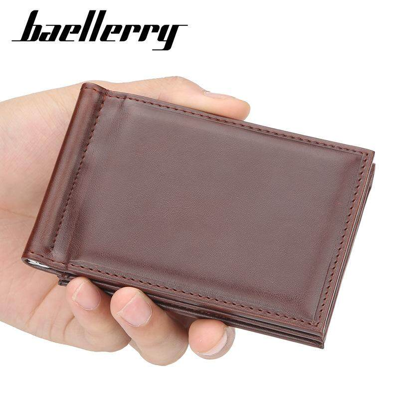 dd8b86be2dae Baellerry Vintage Leather Hasp Small Wallet Coin Pocket Purse Card Holder  Men Wallets Money Cartera Hombre