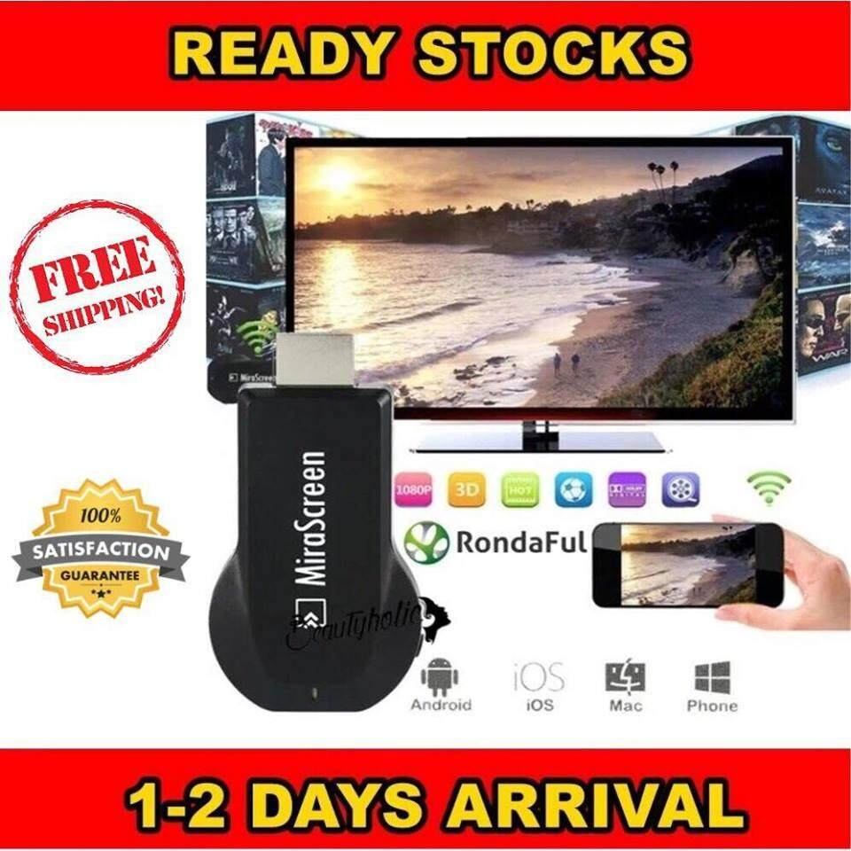 MiraScreen TV Stick Dongle EasyCast WiFi Display Receiver DLNA Airplay Miracast Watching Video for Smart TV