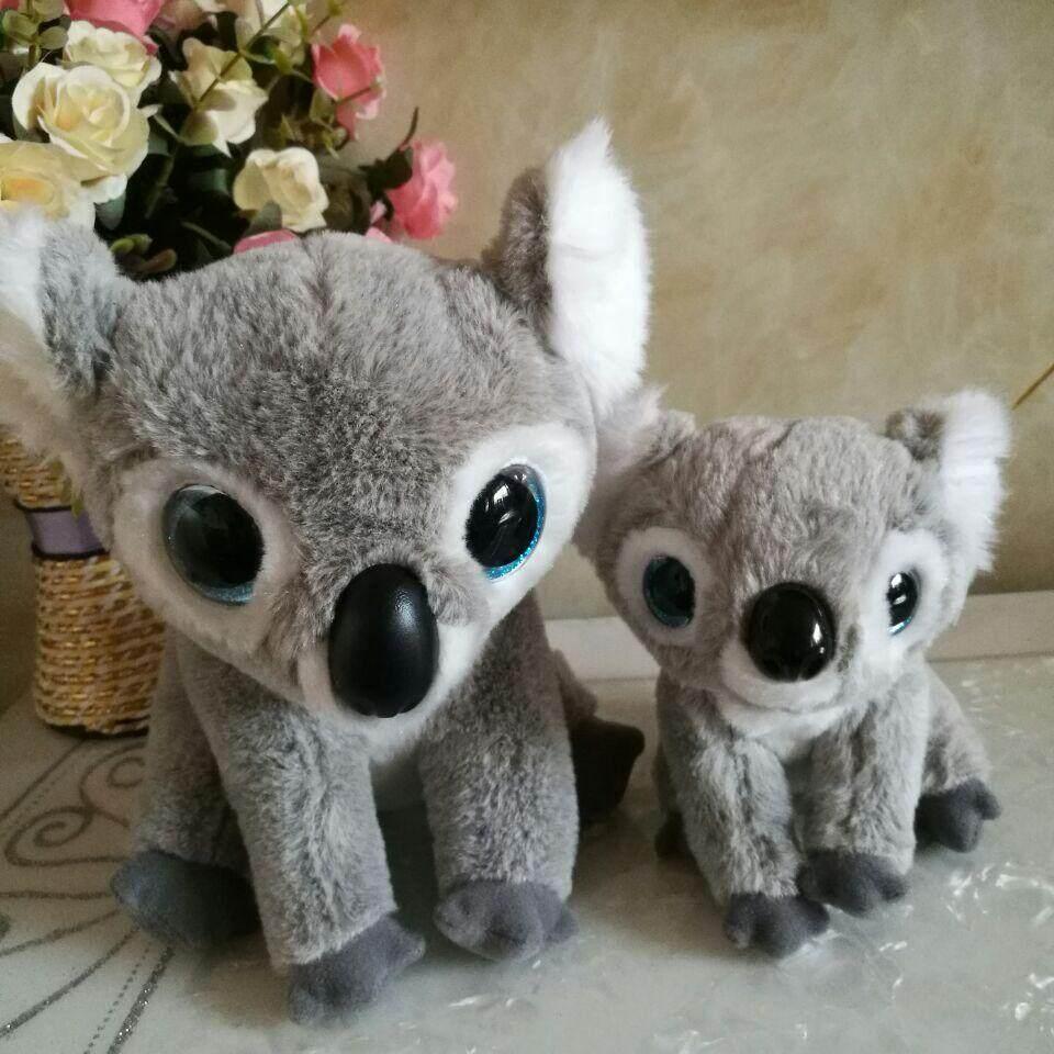 kookoo koalas TY 1PC 25CM and 15CM BIG EYES Plush Toys Stuffed animals children toy nano