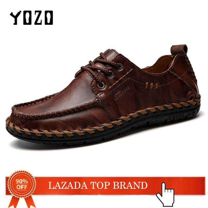 b62109921eb YOZO Men S Shoes Driving Shoes Fashion Business Shoes Men Loafers Moccasin Leather  Shoes Casual Shoes For