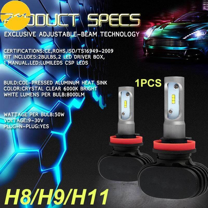 JMS Front Lamp LED Fog Light Super Bright H8/H9/H11 S1 6000K DC12V