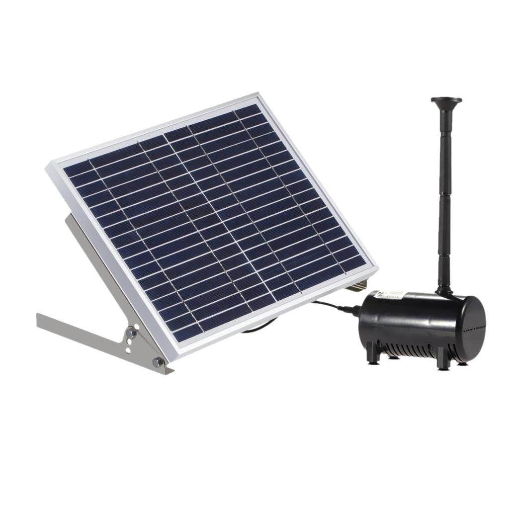 MagiDeal 10W 17V Solar Powered Panel Water Pump Pool Garden Submersible Fountain Kit