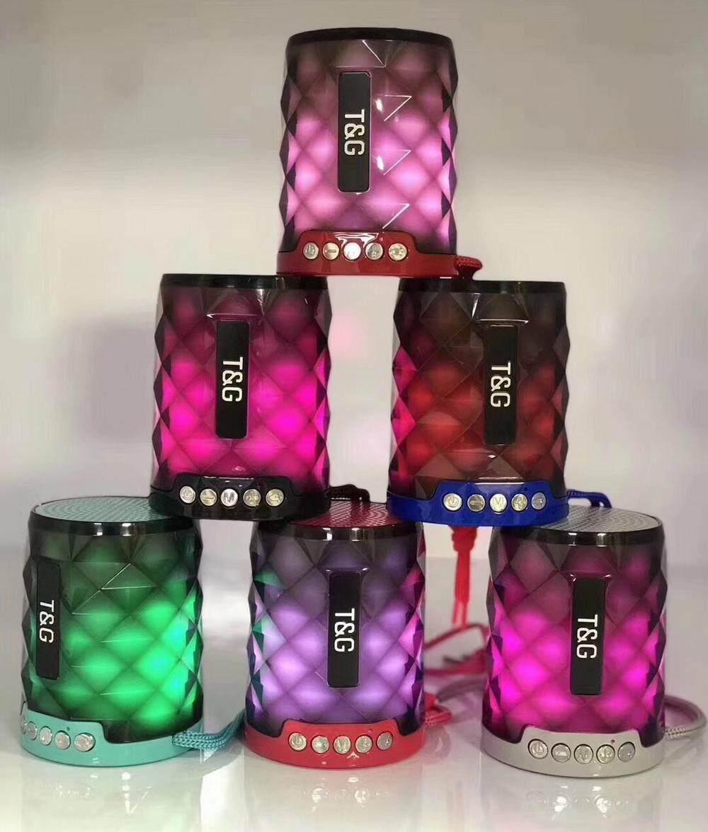 Khanzshop New Arrival Xtreme Perfect Choice Bluetooth Portable Speaker Original Hijau Tg155 Universal Wireless Speakers Powered Subwoofer Led Light Support Tf Card Fm Mic Mini Digital