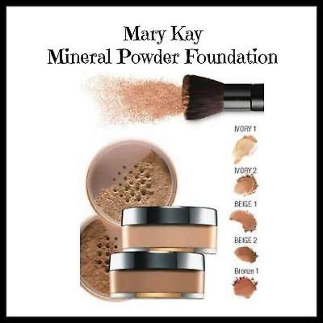 MARY KAY MINERAL POWDER FOUNDATION,( Ivory 2) 8g
