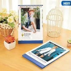 SYS Kpop BTS 2019-2020 Kalender Meja Bangtan Boys Gambar Mini Album Foto Jimin Suga