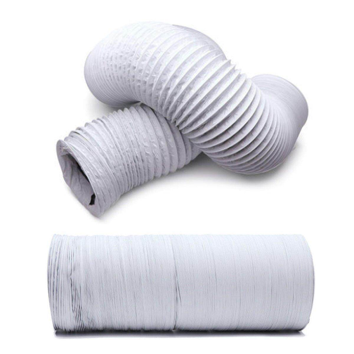 7m Flexible Air Conditioner Spare Parts Exhaust Pipe Vent Hose Outlet 225mm By Glimmer.