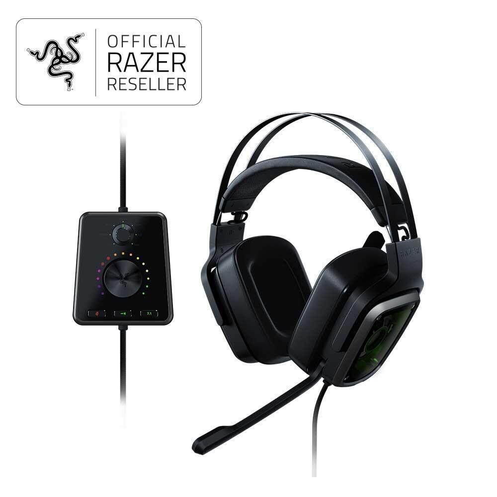Cek Harga Razer Kraken Pro V2 Gaming Headset Oval Terbaru Black Analog Tiamat 71 True