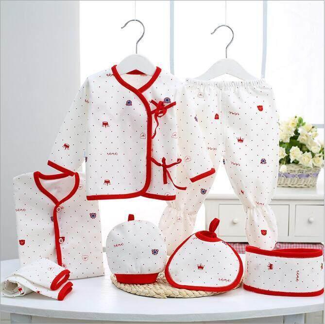 7 Buah/set Bayi Baru Lahir 0-3 M Baru Bayi Kaus Hangat Bayi Kapas Baru Lahir Bayi Anak Laki-Laki Anak Perempuan Pakaian Musim Dingin Musim Gugur Unisex Pakaian By Hh Official Store