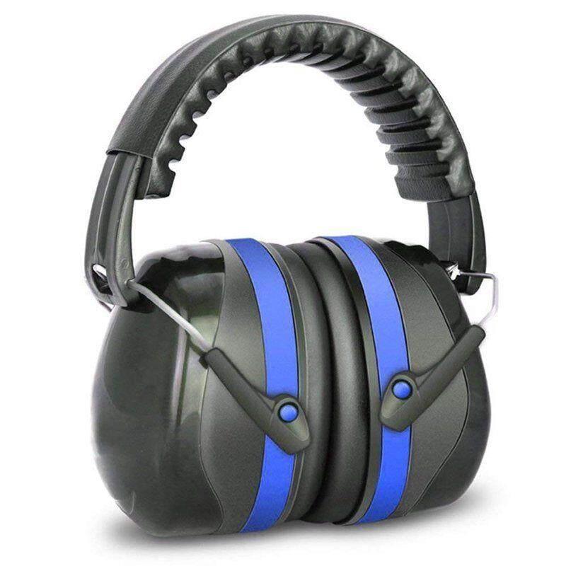 Meking Nrr 30dB Anti-Noise Flodable Penahan Telinga Sumbat Pelindung Kebisingan Tidur Menembak Headphone Pelindung