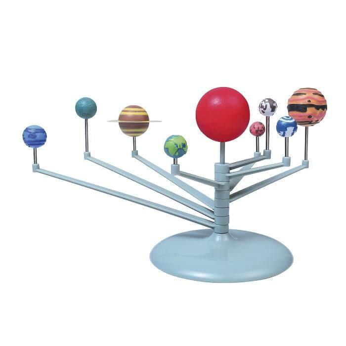 Hình ảnh DIY Desktop Decoration Model Solar System Planetarium - intl