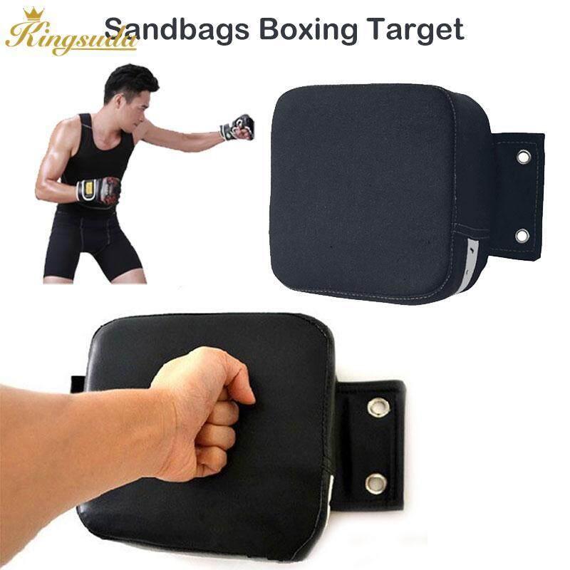 Hình ảnh Kingsuda Wall Target Boxing Target Durable Portable Canvas Black White - intl