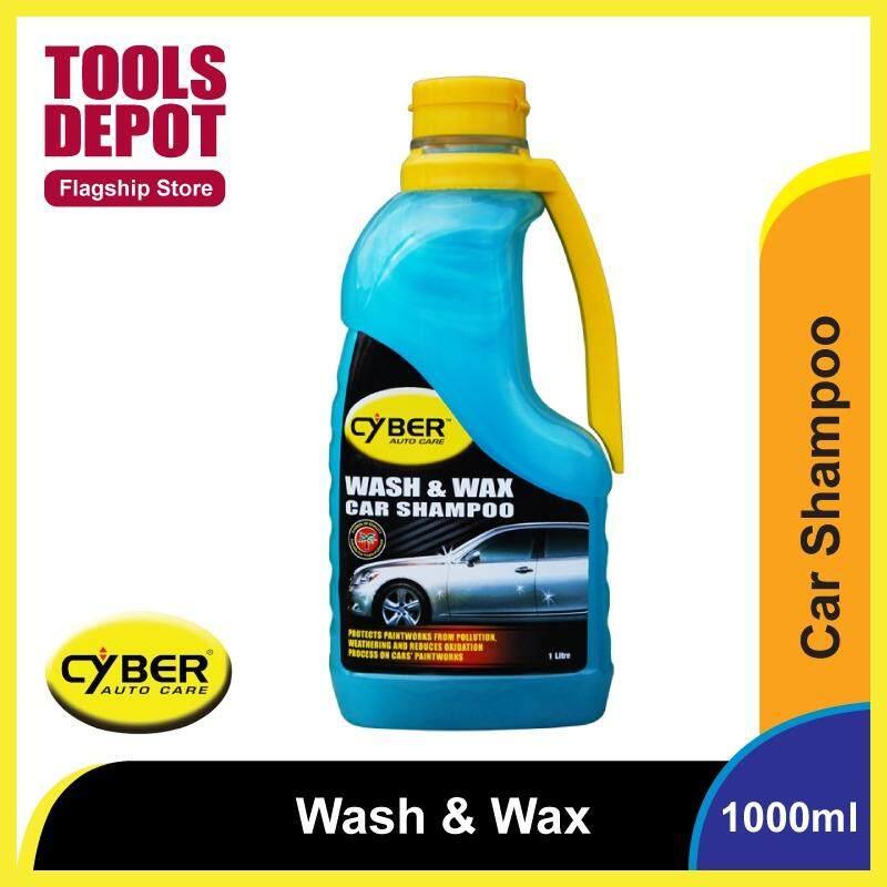 Cyber Wash & Wax Car Shampoo (1000ml)