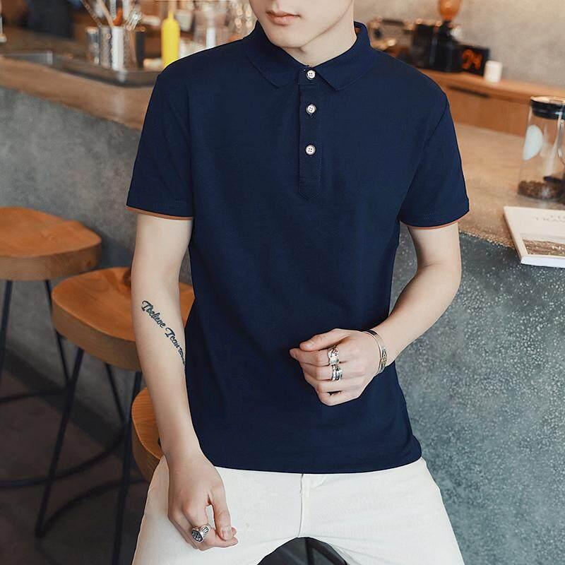 Thailand nasional olahraga kerah polo kemeja musim panas lengan pendek t- shirt jersey (POLO. Source · Kaos Musim Panas Pria Kemeja POLO Warna Solid Kerah ...