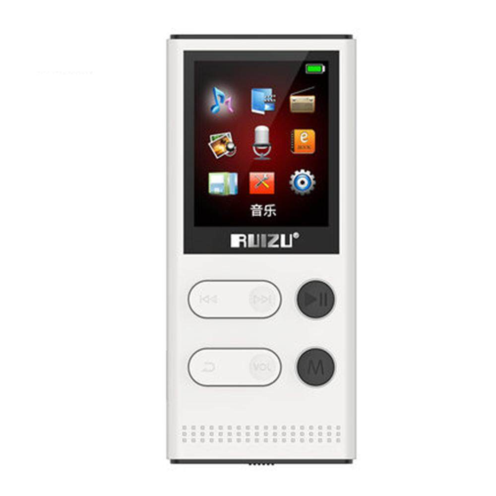 Original RUIZU X22 8G MP3 Player With High Quality Portable Lossless Voice Recorder FM Radio Music Player Support 128G TF Card - Solar Energy Version