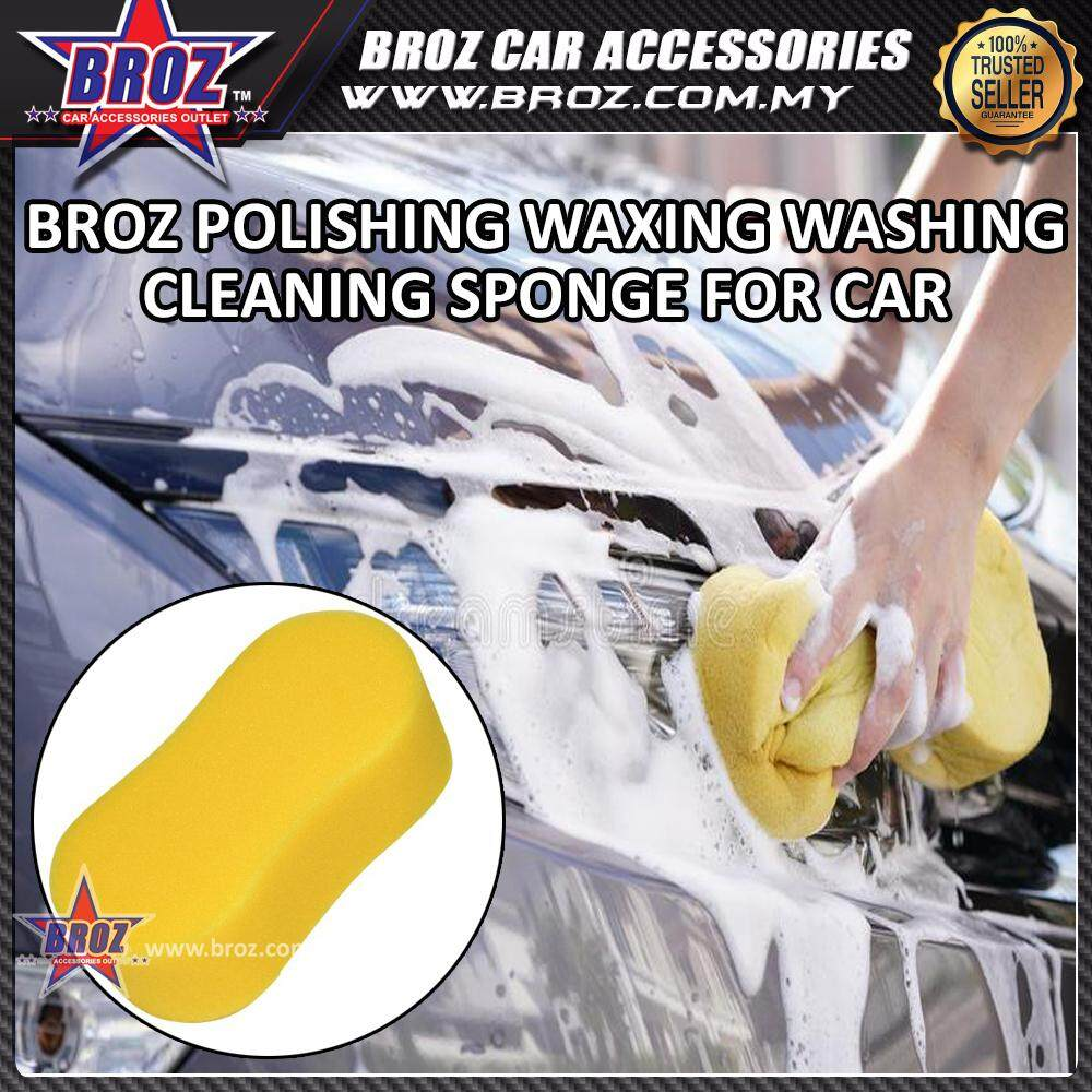 Broz Polishing Waxing Washing Cleaning Sponge for Car