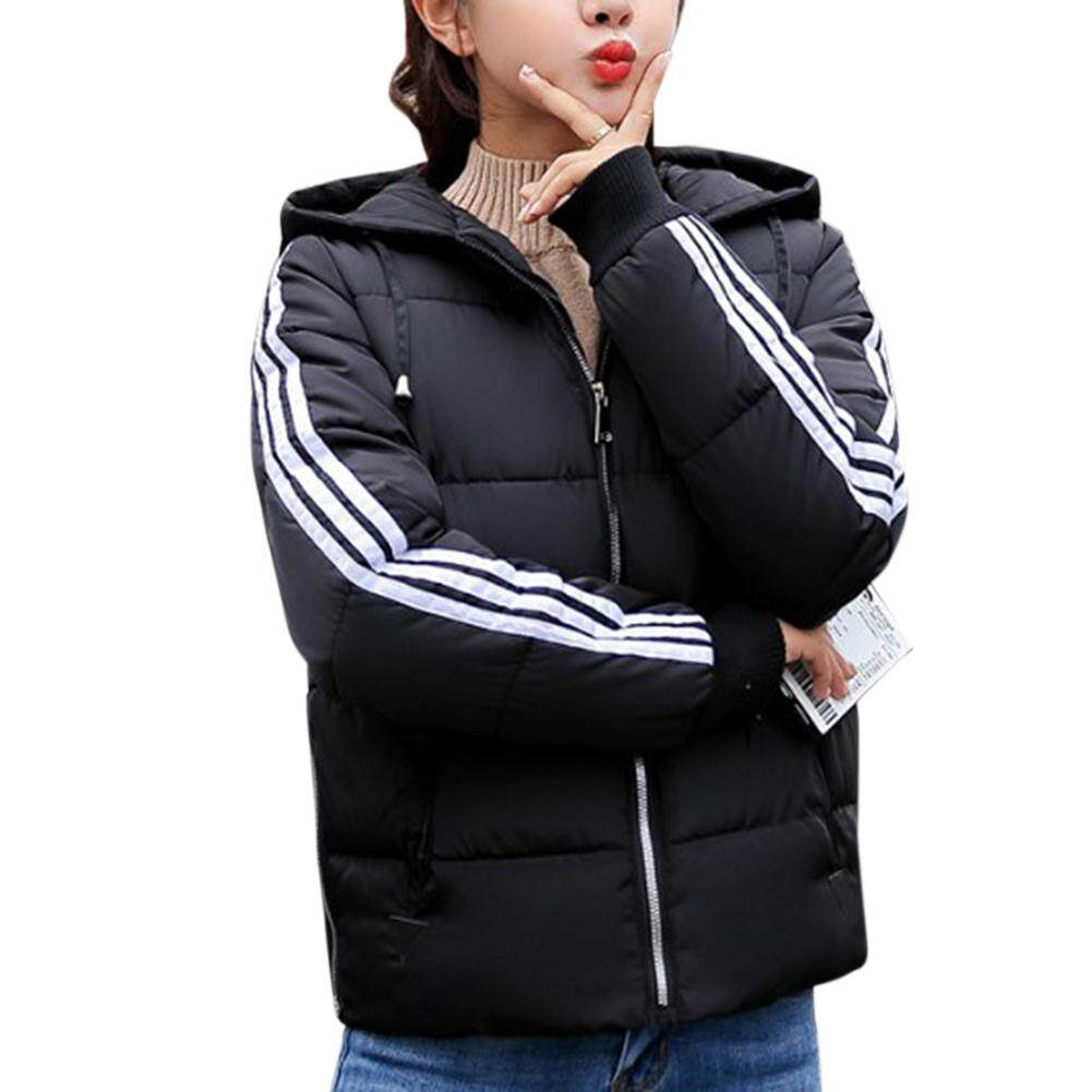 Hình ảnh thu nhỏ Big Sale Womens Winter Coat Ladies Jacket Down Padded Collar Warm Hooded