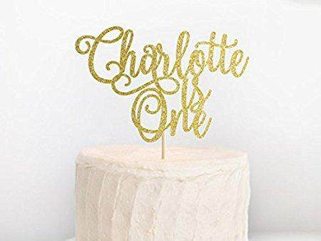 Personalisierte Birthday Cake Topper, Birthday Cake Topper, Alter Kuchen Topper, 1st Birthday Cake Topper, Kuchen, Smash, Custom Geburtstag Topper - Intl By Qidu Store.