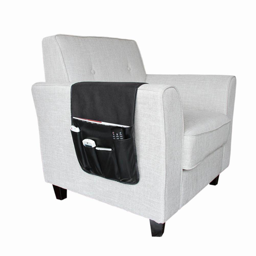 Anti-slip Sofa Storage Bag Soft Caddy Organizer Holder with Pockets for Tablets TV Remotes Phones  Specification:90*34cm