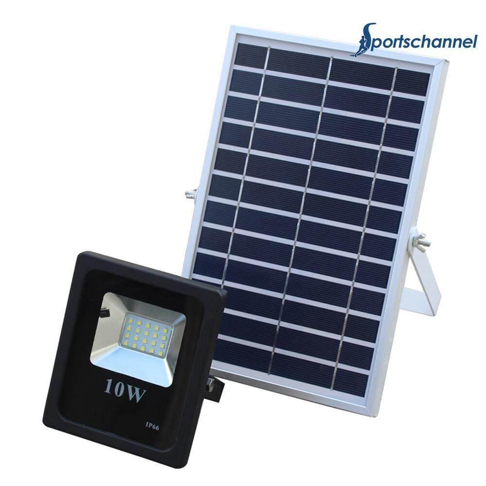 10W 20LED Solar Waterproof Light Remote Control Lamp for Outdoor Garden Yard - intl