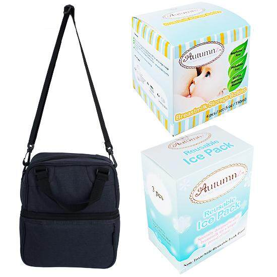 Autumnz - Posh Cooler Bag Complete Set (4 btls) - ( DIM GREY )