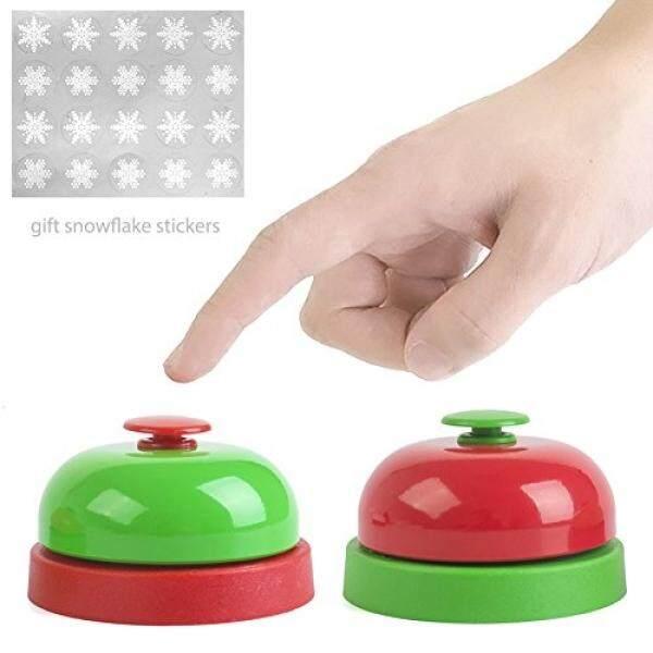 Christmas Call Bell, Desktop Bell Tea Dinner Bell Service Bell Game Bell Classic Concierge Service
