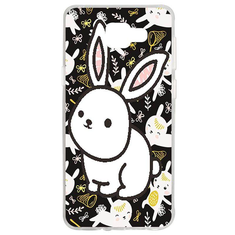 White Rabbit TPU Soft Silicon Phone Case Cover For Samsung Galaxy A5 2016 A510