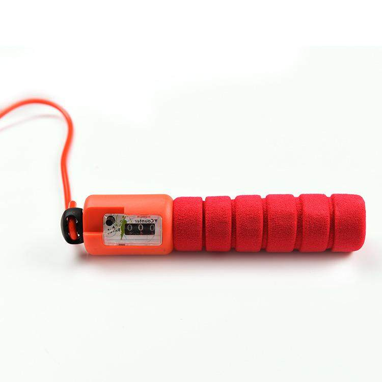 Profesional Perhitungan Elektronik Tali Skipping Dewasa Pola Tali Tali Skipping Siswa Uji Lompatan Kebugaran Pengiriman Cepat