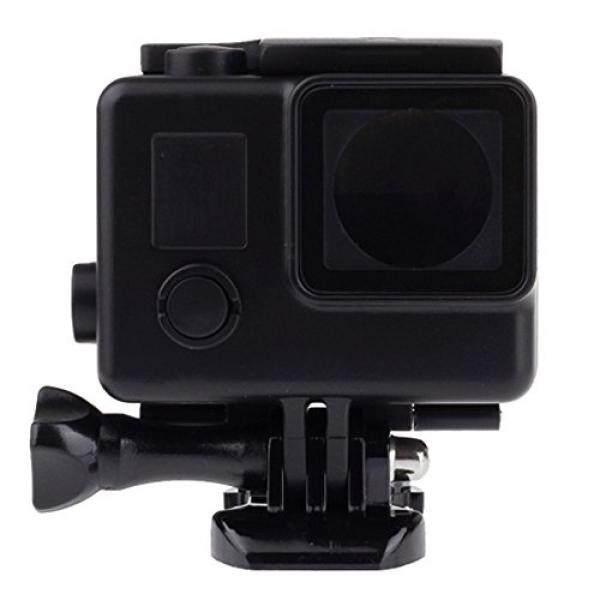 Vicdozia Blackout Wadah Anti Air Case Bawah Air Hitam Pelindung Menyelam Kotak Penutup Pelindung untuk GoPro HERO 3 3 + 4-Intl