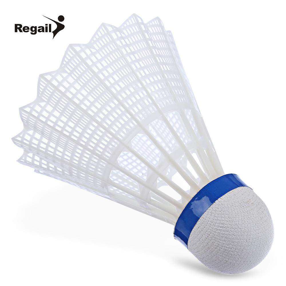 Hình ảnh REGAIL 500 6pcs / Set Gym Exercise Training Nylon Badminton Ball (White) - intl