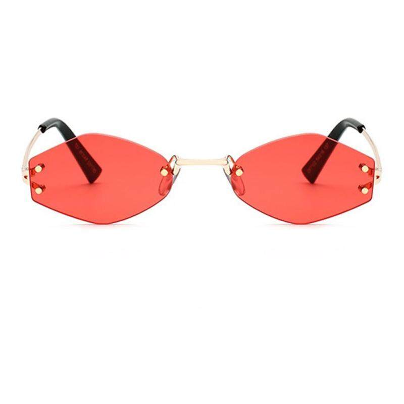 Mua YC Fashion Retro Small Frame Adult Sunglasses Hexagon Frame Ultraviolet-proof Glasses Eyewear