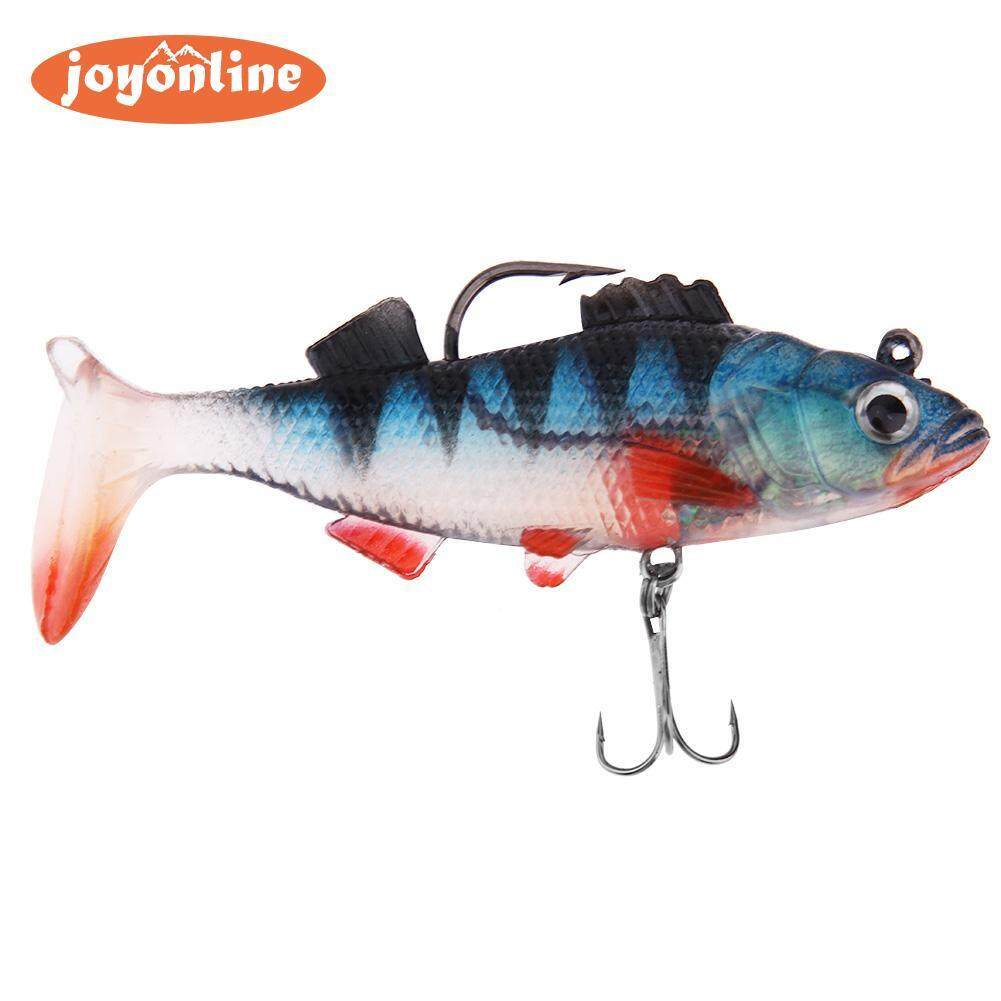 19g/9cm 3D Eyes T Tail Fishing Lure Jig Head Wobbler Bait