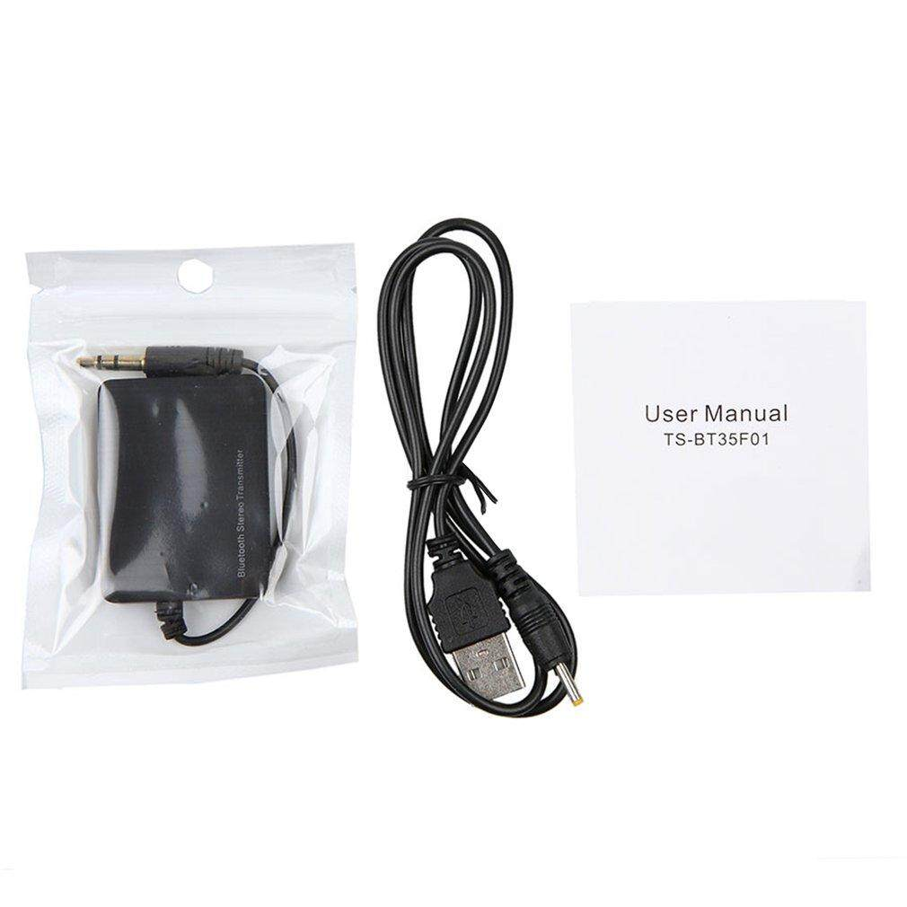Bluetooth Dongle Transmitter 3.5mm Audio Adapter Transmitter for TV Speaker