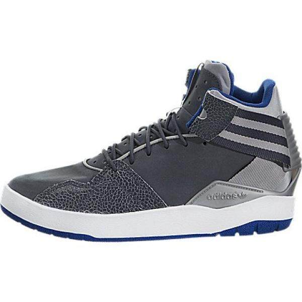 best service afba4 6900c Adidas Originals Boys Crestwood Mid J Skate Shoe, Mgh Solid Greyutility  Blue