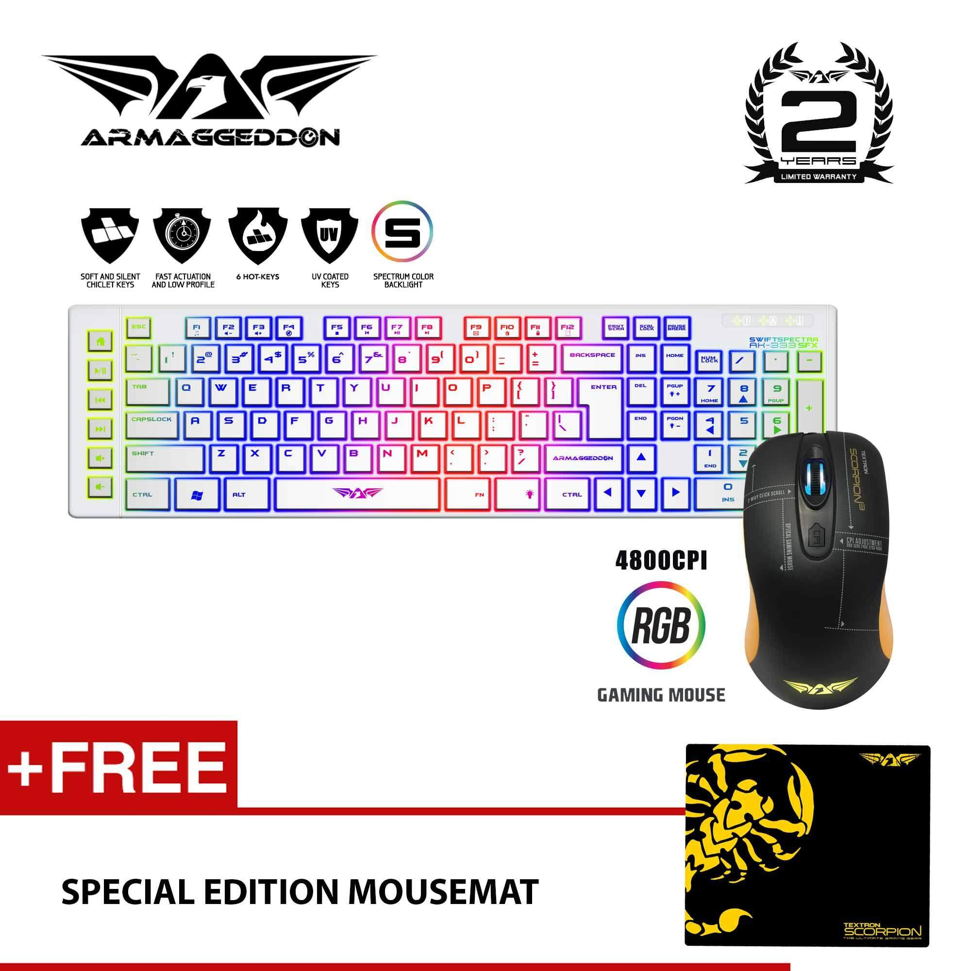 Armaggeddon Mka 7c Psychfalcon Mechanical Keyboard Blue Switch Malaysia Gaming 3c Ak 333sfx Scorpion 3 Mouse Combo Free Special Edition Mousemat By