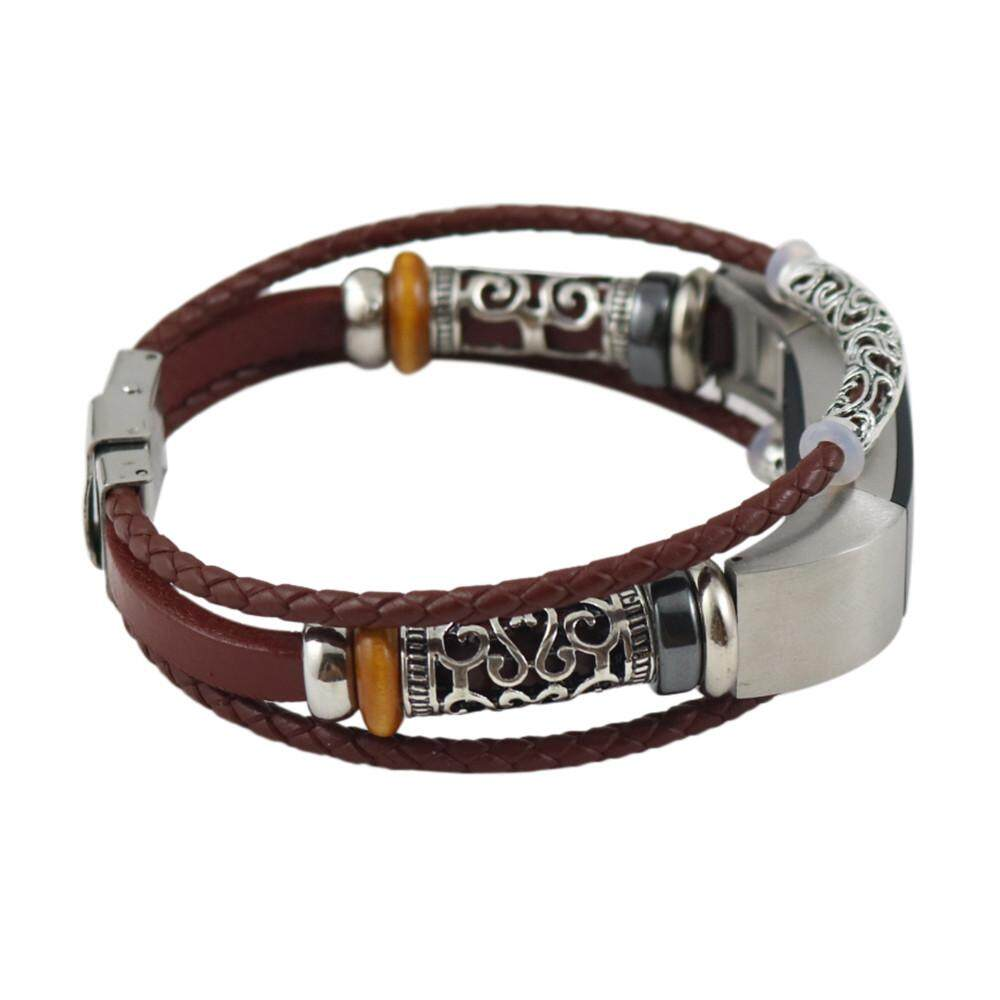 Replacement Leather Wristband Band Strap Bracelet For Fitbit Alta/Fitbit Alta HR Fanestiy