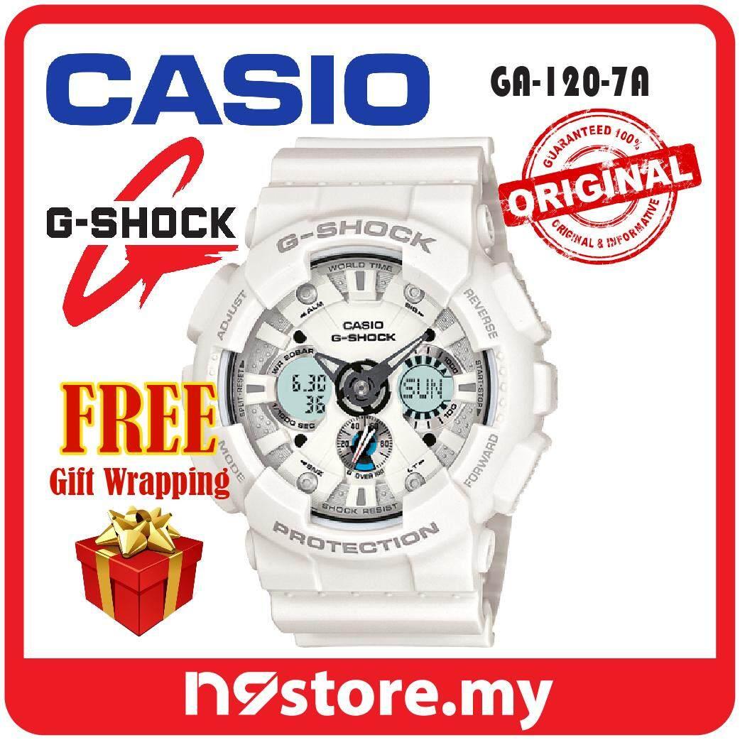 Casio G-Shock GA-120-7A Analog Digital Sports Watch