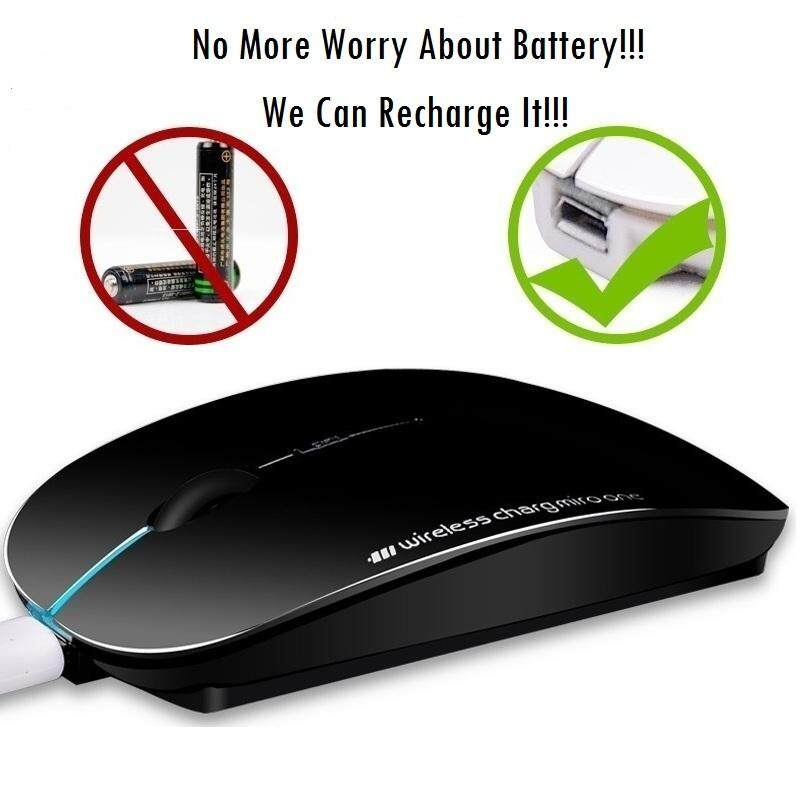 Wireless, RECHARGEABLE & Silent Original Mouse Malaysia