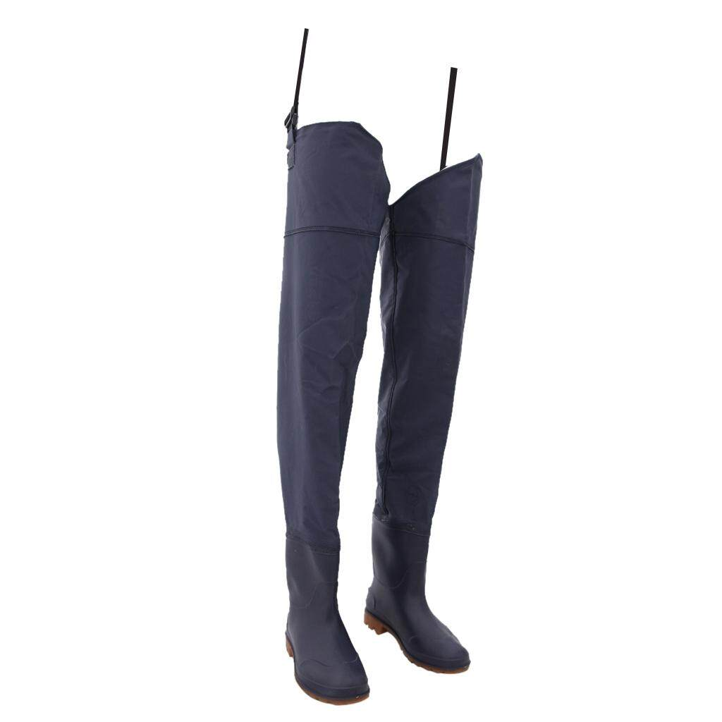 Miracle Shining Light-Weight Fishing Waders Breathable Waterproof Trousers Boot Size Us 10 By Miracle Shining.