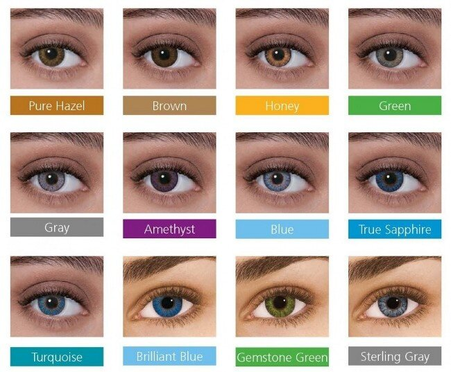 Freshlook colorblends monthly grey contact lens 2 25 lazada