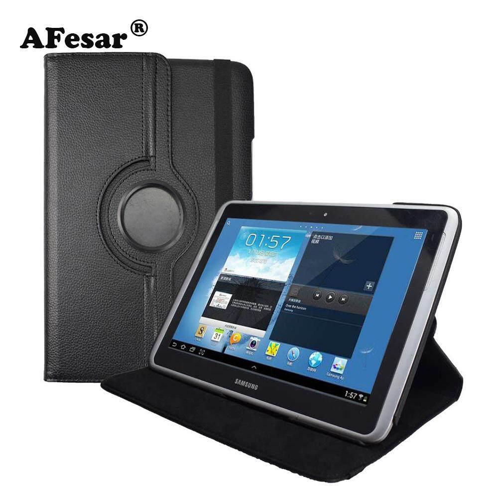 GT-N8000 N8010 Roating Penutup Tiang Dudukan-Advanced Pu Penutup Berbahan Kulit untuk Samsung GALAXY Catatan N8000 N8010 Penutup Tablet Berdiri Kasus