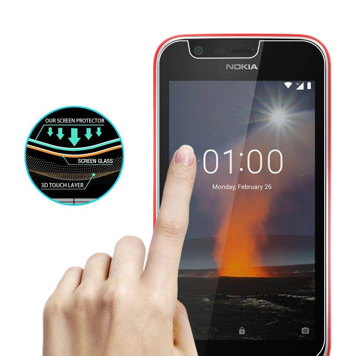 [Original] 1 Pack Tempered Glass Screen Protector Film Anti-Scratch Screen Cover for