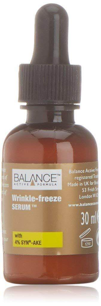 Balance Active Formula Wrinkle Freeze Serum 30 ml