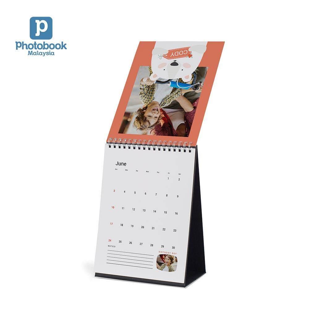 Photobook Malaysia 6 x 8 Desk Calendar
