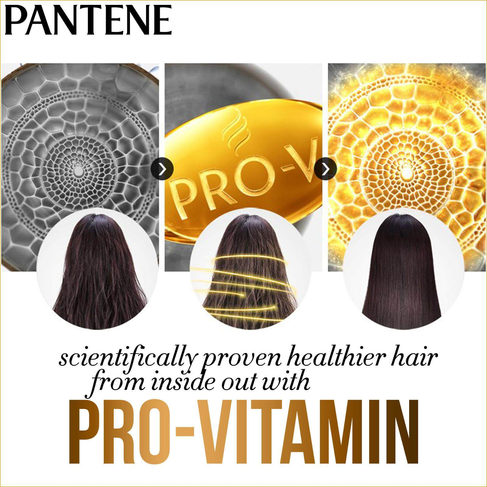 Features Pantene Pro V Hairfall Control 750ml 3 Minute Miracle 180ml Sampo