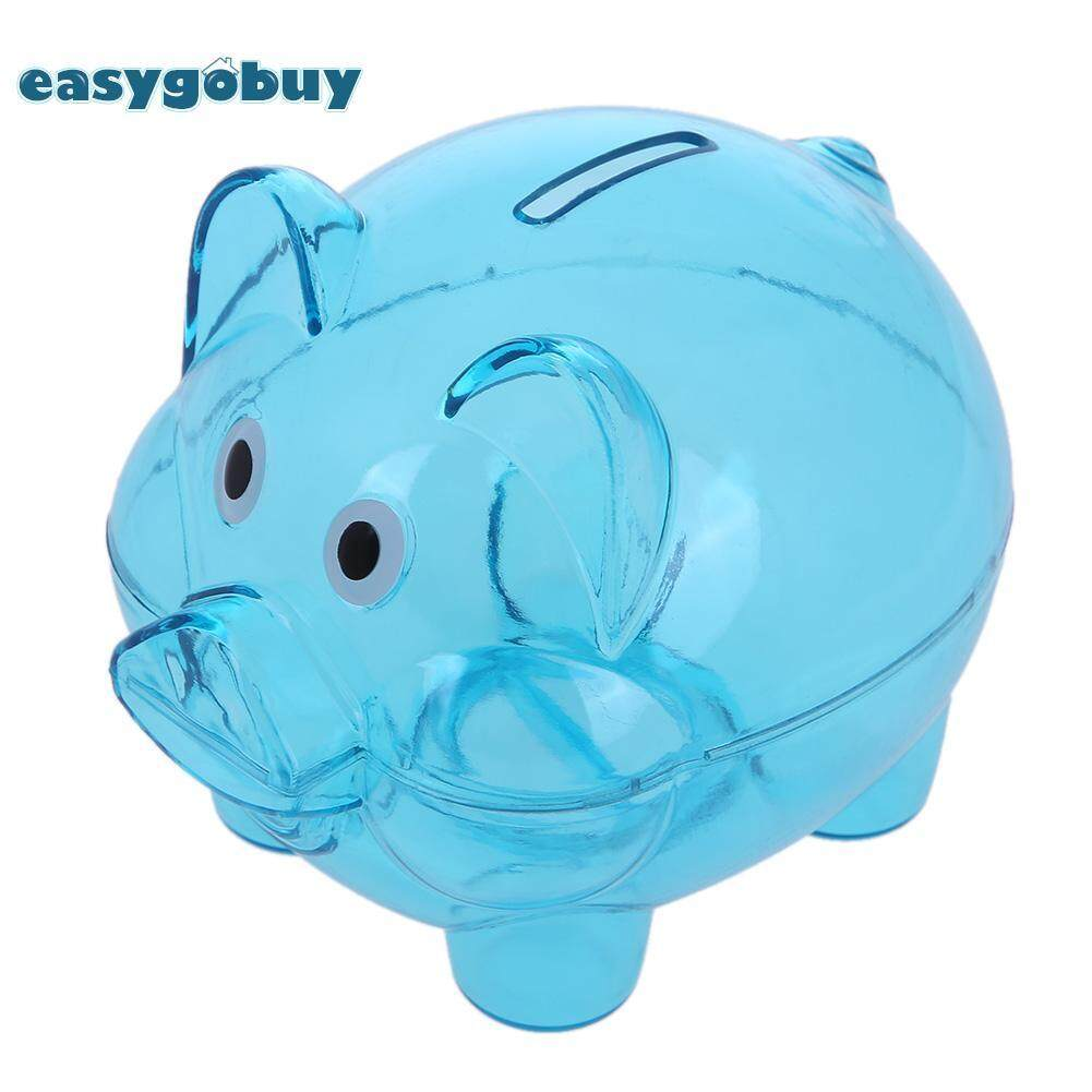 Buy Sell Cheapest Mao Coin Bank Best Quality Product Deals Celengan Atm Hello Kitty Cute Plastic Transparent Money Saving Box Children Cash Safe Piggy