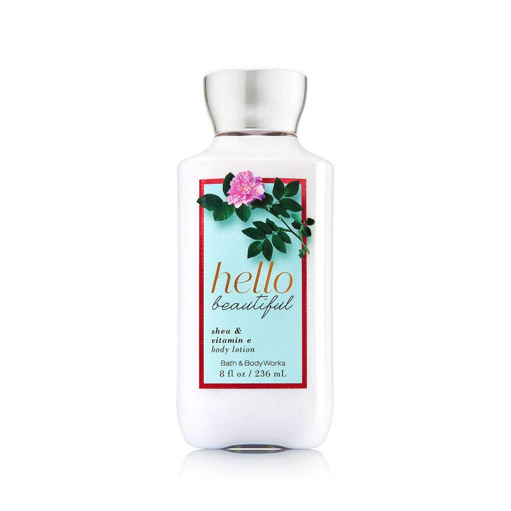 Bath & Body Works HELLO BEAUTIFUL Body Lotion B