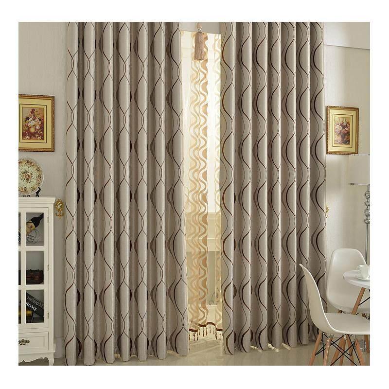 [OrangeHome] 200*250 CM (1 pc) Blackout Curtain Drape Hook Window Room Bedroom Balcony Brown A01-LDZ - intl