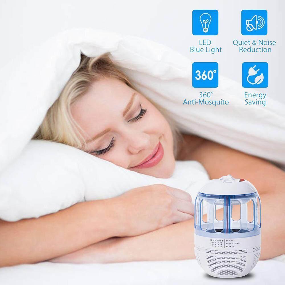 Aolvo USB Pembasmi Nyamuk Lampu elektronik Perangkap Serangga dengan LED Blue-Ray dan Fan Tenang Inhaler Secara Fisik Terbang Ngengat, tidak Berbahaya dan Tidak Sehat untuk Indoor-Intl