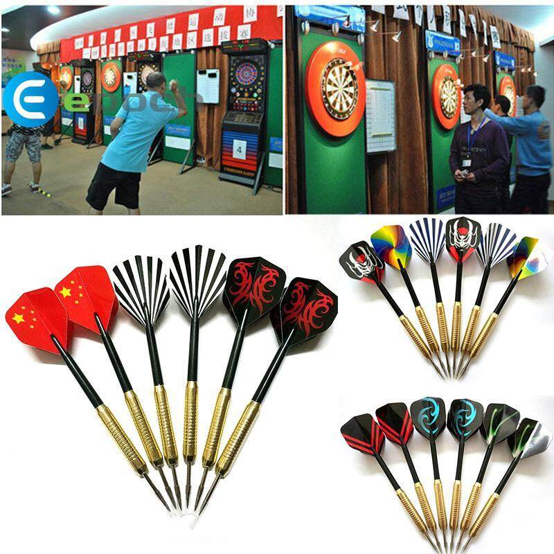 Copper-Plated Needle Pin Dart Board Toy Set Kids Play Indoor Sports Camping Game