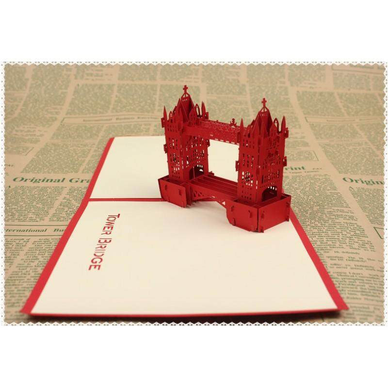 3D  Tower bridge Card